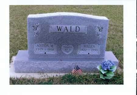 WALD, HELEN - McIntosh County, North Dakota | HELEN WALD - North Dakota Gravestone Photos