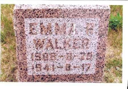 WALKER, EMMA R. - McIntosh County, North Dakota   EMMA R. WALKER - North Dakota Gravestone Photos