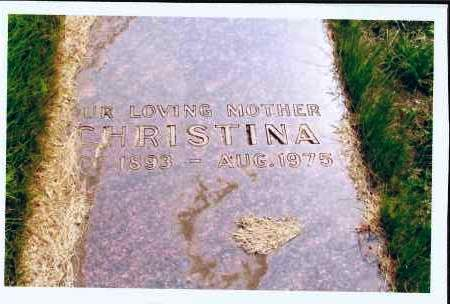 WALTH, CHRISTINA - McIntosh County, North Dakota | CHRISTINA WALTH - North Dakota Gravestone Photos