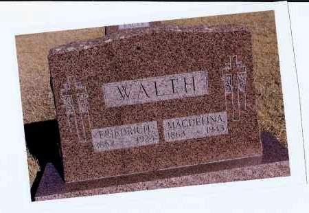WALTH, MAGDELINA - McIntosh County, North Dakota | MAGDELINA WALTH - North Dakota Gravestone Photos