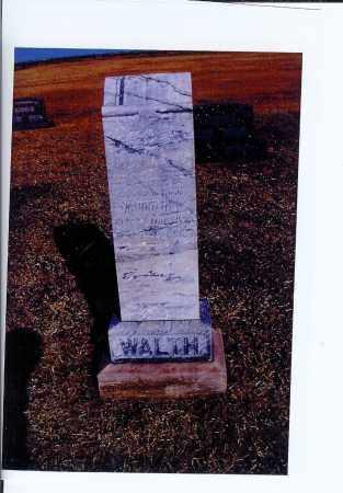 WALTH, KATHARINA - McIntosh County, North Dakota | KATHARINA WALTH - North Dakota Gravestone Photos