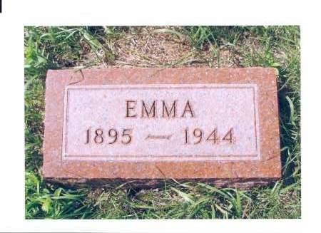 WALZ, EMMA - McIntosh County, North Dakota   EMMA WALZ - North Dakota Gravestone Photos