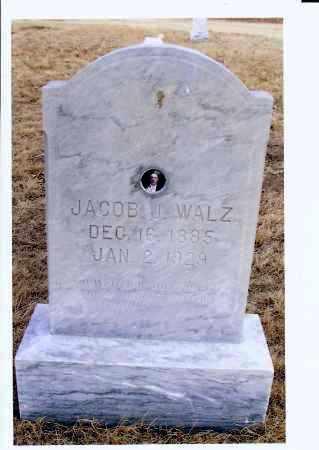 WALZ, JACOB J. - McIntosh County, North Dakota | JACOB J. WALZ - North Dakota Gravestone Photos
