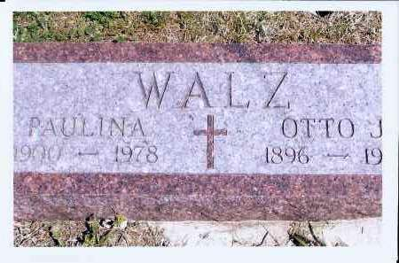 WALZ, OTTO J. - McIntosh County, North Dakota | OTTO J. WALZ - North Dakota Gravestone Photos