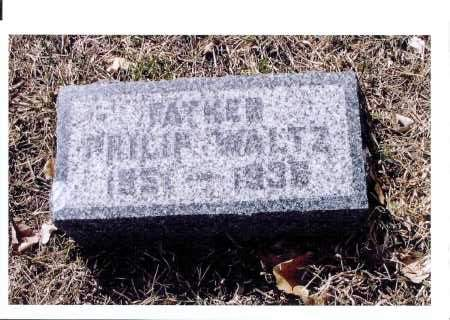 WALZ, PHILIP - McIntosh County, North Dakota | PHILIP WALZ - North Dakota Gravestone Photos