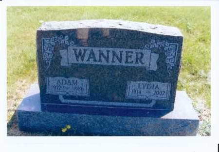 EISEMAN WANNER, LYDIA - McIntosh County, North Dakota | LYDIA EISEMAN WANNER - North Dakota Gravestone Photos