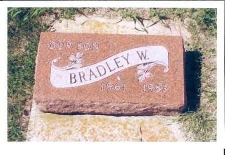 WANNER, BRANDLEY W. - McIntosh County, North Dakota   BRANDLEY W. WANNER - North Dakota Gravestone Photos