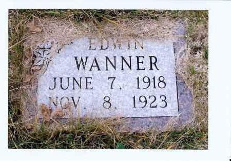 WANNER, EDWIN - McIntosh County, North Dakota   EDWIN WANNER - North Dakota Gravestone Photos