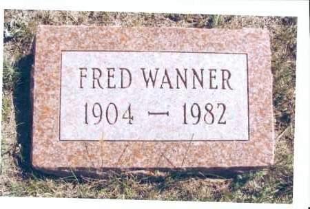 WANNER, FRED - McIntosh County, North Dakota   FRED WANNER - North Dakota Gravestone Photos