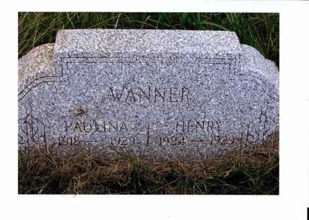 WANNER, HENRY - McIntosh County, North Dakota   HENRY WANNER - North Dakota Gravestone Photos