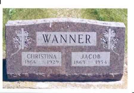 WANNER, JACOB - McIntosh County, North Dakota | JACOB WANNER - North Dakota Gravestone Photos