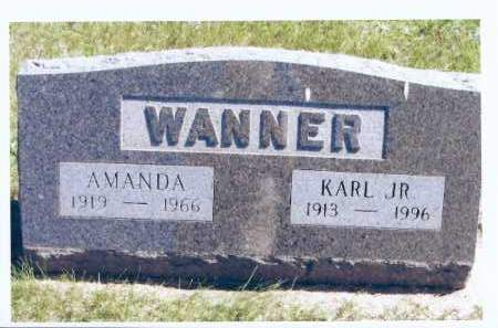 WANNER, KARL JR. - McIntosh County, North Dakota | KARL JR. WANNER - North Dakota Gravestone Photos