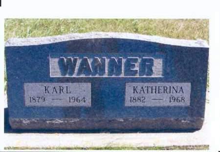 WANNER, KARL - McIntosh County, North Dakota | KARL WANNER - North Dakota Gravestone Photos