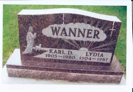 HEUPEL WANNER, LYDIA - McIntosh County, North Dakota | LYDIA HEUPEL WANNER - North Dakota Gravestone Photos