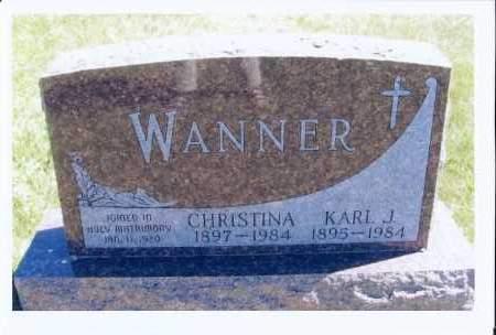 WANNER, KARL J. - McIntosh County, North Dakota   KARL J. WANNER - North Dakota Gravestone Photos