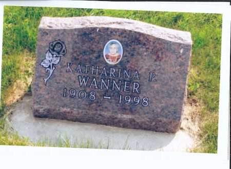 WANNER, KATHARINA P. - McIntosh County, North Dakota | KATHARINA P. WANNER - North Dakota Gravestone Photos