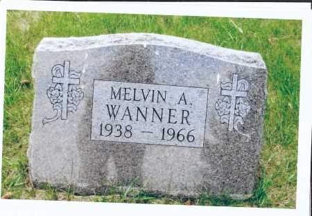 WANNER, MELVIN A. - McIntosh County, North Dakota | MELVIN A. WANNER - North Dakota Gravestone Photos