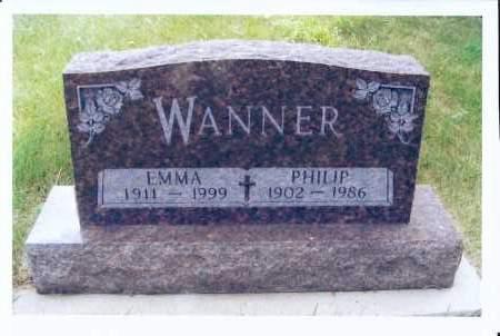 WANNER, EMMA - McIntosh County, North Dakota | EMMA WANNER - North Dakota Gravestone Photos