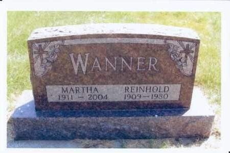 WANNER, REINHOLD - McIntosh County, North Dakota | REINHOLD WANNER - North Dakota Gravestone Photos