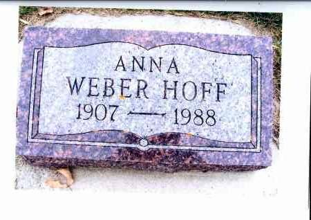 WEBER, ANNA - McIntosh County, North Dakota | ANNA WEBER - North Dakota Gravestone Photos