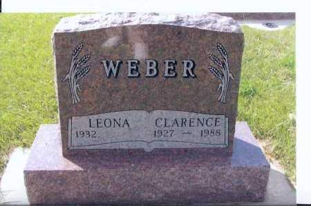 WEBER, CLARENCE - McIntosh County, North Dakota | CLARENCE WEBER - North Dakota Gravestone Photos