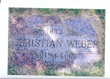WEBER, CHRISTIAN - McIntosh County, North Dakota   CHRISTIAN WEBER - North Dakota Gravestone Photos