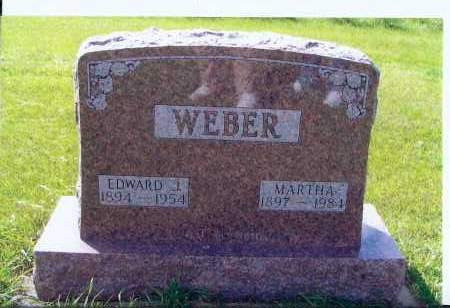 WEBER, MARTHA - McIntosh County, North Dakota | MARTHA WEBER - North Dakota Gravestone Photos
