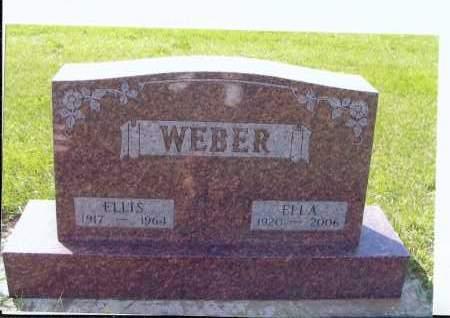 WEBER, ELLIS - McIntosh County, North Dakota   ELLIS WEBER - North Dakota Gravestone Photos