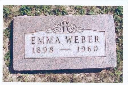 THURN WEBER, EMMA - McIntosh County, North Dakota | EMMA THURN WEBER - North Dakota Gravestone Photos