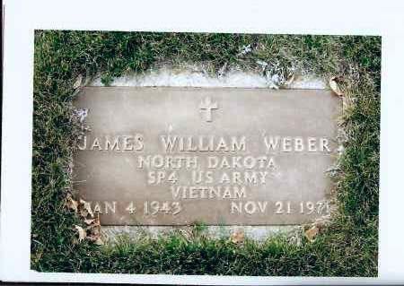 WEBER, JAMES WILLIAM - McIntosh County, North Dakota | JAMES WILLIAM WEBER - North Dakota Gravestone Photos