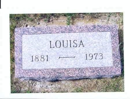 WEBER, LOUISA - McIntosh County, North Dakota | LOUISA WEBER - North Dakota Gravestone Photos