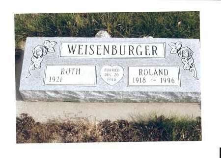 EHMAN WEISENBURGER, RUTH, TABITHA - McIntosh County, North Dakota | RUTH, TABITHA EHMAN WEISENBURGER - North Dakota Gravestone Photos