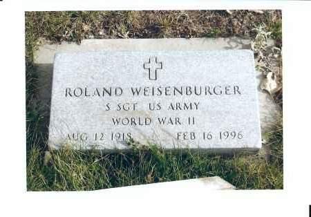 WEISENBURGER, ROLAND - McIntosh County, North Dakota | ROLAND WEISENBURGER - North Dakota Gravestone Photos