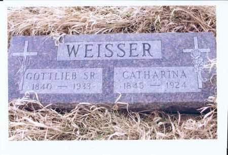 KAUL WEISSER, CATHARINA - McIntosh County, North Dakota | CATHARINA KAUL WEISSER - North Dakota Gravestone Photos