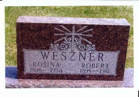 WESZNER, ROSINA - McIntosh County, North Dakota | ROSINA WESZNER - North Dakota Gravestone Photos
