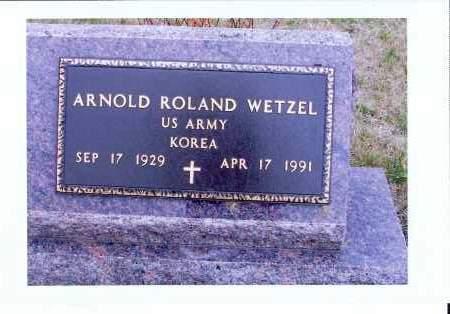 WETZEL, ARNOLD ROLAND - McIntosh County, North Dakota | ARNOLD ROLAND WETZEL - North Dakota Gravestone Photos