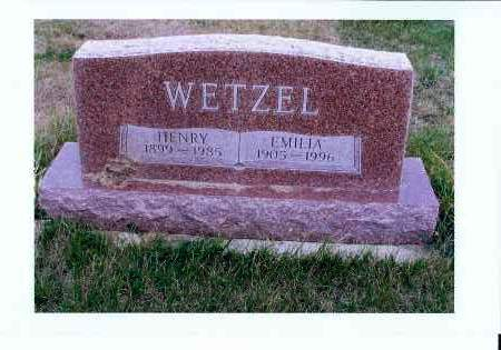 WETZEL, HENRY - McIntosh County, North Dakota   HENRY WETZEL - North Dakota Gravestone Photos