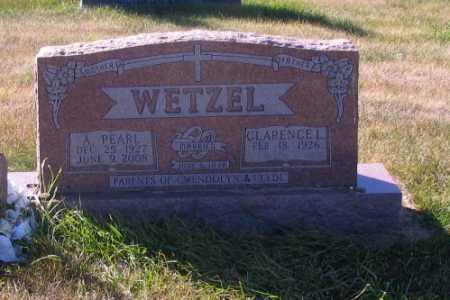 WETZEL, PEARL - McIntosh County, North Dakota | PEARL WETZEL - North Dakota Gravestone Photos