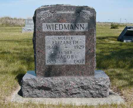 WAGNER WIEDMANN, ELISABETHA - McIntosh County, North Dakota | ELISABETHA WAGNER WIEDMANN - North Dakota Gravestone Photos