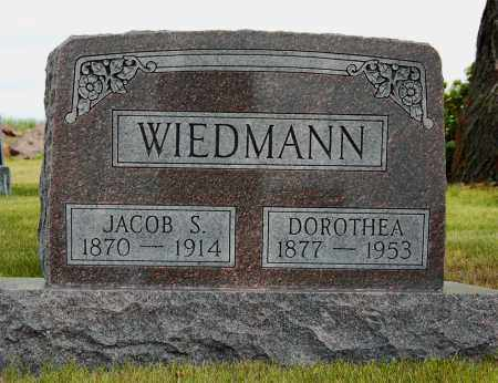 WIEDMANN, JACOB S. - McIntosh County, North Dakota | JACOB S. WIEDMANN - North Dakota Gravestone Photos