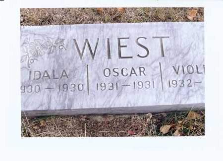 WIEST, OSCAR - McIntosh County, North Dakota | OSCAR WIEST - North Dakota Gravestone Photos