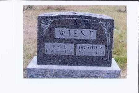 WIEST, DOROTHEA - McIntosh County, North Dakota   DOROTHEA WIEST - North Dakota Gravestone Photos