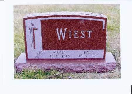 WIEST, EMIL - McIntosh County, North Dakota | EMIL WIEST - North Dakota Gravestone Photos