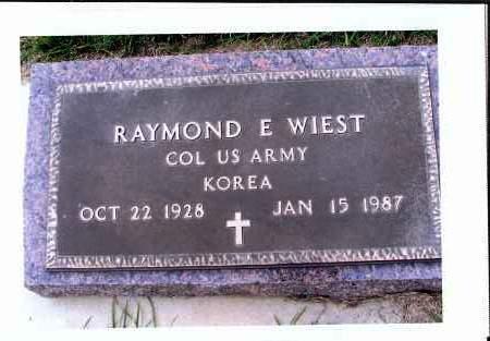 WIEST, RAYMOND E. - McIntosh County, North Dakota | RAYMOND E. WIEST - North Dakota Gravestone Photos