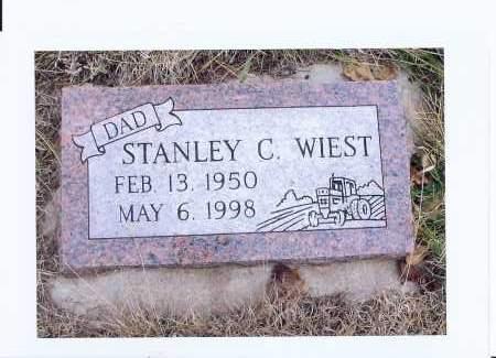 WIEST, STANLEY C. - McIntosh County, North Dakota | STANLEY C. WIEST - North Dakota Gravestone Photos