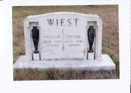 WIEST, PETER - McIntosh County, North Dakota | PETER WIEST - North Dakota Gravestone Photos