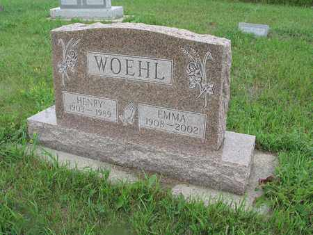 KOENIG WOEHL 113, EMMA - McIntosh County, North Dakota | EMMA KOENIG WOEHL 113 - North Dakota Gravestone Photos
