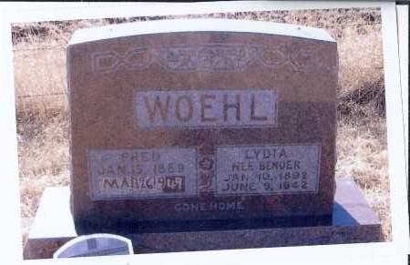 BENDER WOEHL, LYDIA - McIntosh County, North Dakota | LYDIA BENDER WOEHL - North Dakota Gravestone Photos