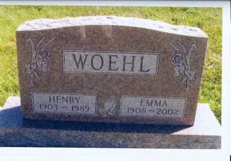 KOENING WOEHL, EMMA - McIntosh County, North Dakota   EMMA KOENING WOEHL - North Dakota Gravestone Photos