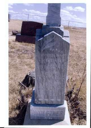 WOESZNER, FRIDRICH - McIntosh County, North Dakota | FRIDRICH WOESZNER - North Dakota Gravestone Photos